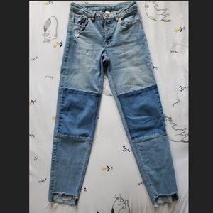 H&M Divided Straight Leg Jeans